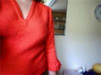 Den färdiga tröjan [Billigt garn]
